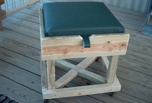Outdoor Furniture / Solid wood items for outside the home.