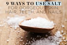 Sensational Salt! / All about the wonders of unrefined salt. You'll find recipes, hacks, information and more!