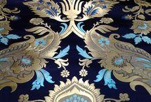 Brocade fabrics-traditional decor