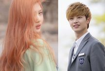 *[KR] Park Sooyoung and Yook Sungjae / September 3, 1996 박수영 / by Pinterest