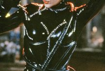 Catwoman catsuit and corset / Catwoman research
