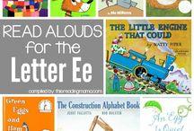 Letter E Preschool Unit / Letter E Preschool Unit with The Peaceful Preschool! #thepeacefulpreschool
