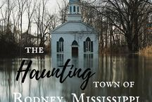 Rodney, Mississippi / The town of Rodney, Mississippi. It will be one of the locations in my second Southern Heritage Novel, releasing in 2018.