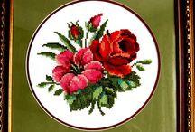 Вышивка (embroidery) / Вышивка: крестом, гладью