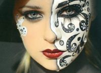Face Art and Body Painting / Using the human body and / or face as a canvas for artistry and expression.  Please no tattoos...they go to my tattoo board.  Thanks.