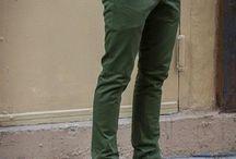 شلوار سبز
