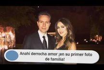 Anahí derrocha amor ¡en su primer foto de familia!