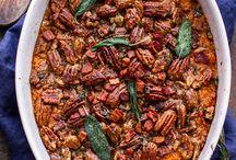 Thanksgiving / Thanksgiving recipes. Some gluten free, vegetarian and vegan!