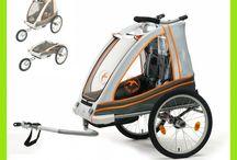 Accessori - Carrello rimorchio bambino e bicicletta e jogging