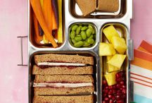 Bento Box Lunch Ideas / Fed up with ham sandwiches day after day? Your kid's lunch will never be boring if you mix and match these ideas to create fun and healthy bento-box combos for school.