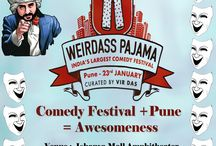 Weirdass Pajama Comedy Festival / Indias Largest Comedy Festival Comes to Pune.