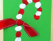 christmas / christmas crafts, ornaments, cards and fifts that children can easily do