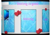 Testing is good