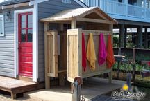 Outdoor bathroom / Outdoor bathroom