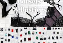 Our Wardrobe: Corsets and Bustiers