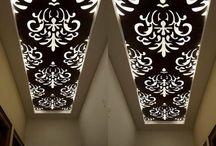 Ceiling screens