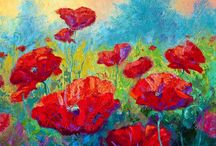 DI Jake Talbot is given a painting of poppies / In Visiting Lilly by Toni Allen Detective Inspector Jake Talbot is given a painting of bright poppies in summer sunshine. http://bit.ly/VisitingLilly Visiting Lilly is now FREE on #KindleUnlimited #ToniAllen #mystery #thriller