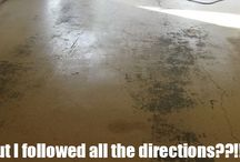 OOPS / All the things that can go wrong with inferior #GarageFlooring Products