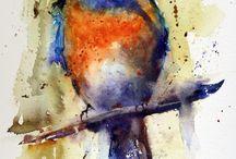 Pinturas / Pájaros