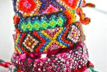 Biżuteria z koralików, kryształków, bursztynów i inne