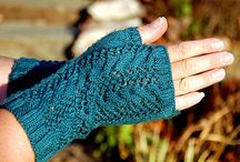 Crochet and Knit Mittens and Hand and Arm Warmers