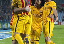 Neymar Jr , Luis Suarez , Jordi Alba i Sergi Roberto