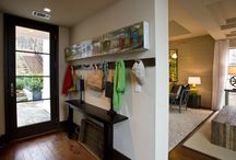 entryways / Make your goings and comings more organized and less cluttered.