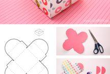 Коробочки из бумаги