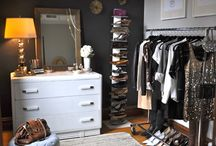 Spare bedroom as Closet