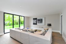 TRELAWNE, GUILDFORD / A new build house in Guildford. A classic, fresh style in a contemporary house.