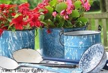 Loving Blue Graniteware / by Brenda Mentjes