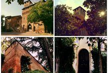 Pozzolo Formigaro Castle, Italy / castle, italy, dolcevita