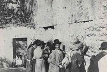 ~ J The Western Wall, 1898 #Israel