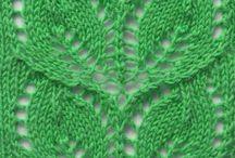 Узоры для вязания. Pattern knit.