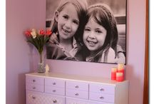 Girls room makeover ideas / by Jennifer Woodall