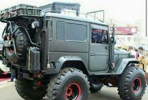 Jeeps, Land Rovers, fj 40