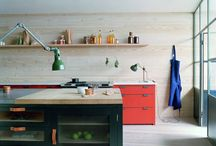 A kitchen / dining