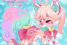 Custom chibi animals-Shoul fox