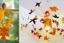 Colgantes-Hojas de otoño