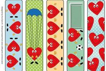 My Bookmark Designs / Bookmarks I have designed and sell on Craftsuprint.