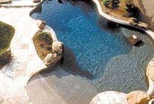 Backyard Living / Backyard landscaping, grills and kitchens, pools, lighting etc