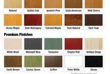 Our Finishes