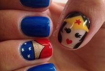 Nails / Fun/Nerdy nails