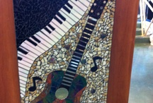 Art with a Music Theme / Ideas for SPAF visual arts competition / by Ness Hoskin