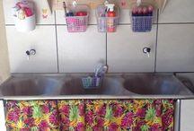 organizador de lavanderia