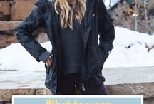 What to Wear: Winter / Colorado winters are no joke. Whether you're skiing, snowboarding, tubing, or just chillin' during a snow storm, here's some ideas of what gear and clothes to wear.