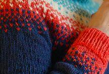 tricoter/ breien/ knitting