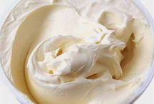 крем, суфле, мороженое