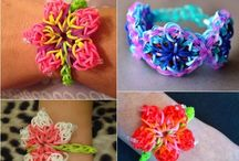 Loom őrület / színes gumigyűrűkből készült csodák