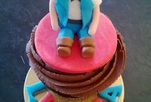 Cupcakes by The Cupcake Garden / www.thecupcakegarden.co.za